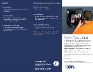 Video Visitation Brochure