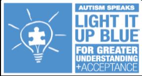 Autism Speaks Light it up Blue