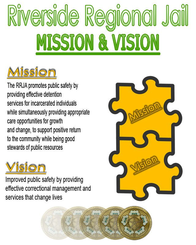 RRJA Mission and Vision Graphic