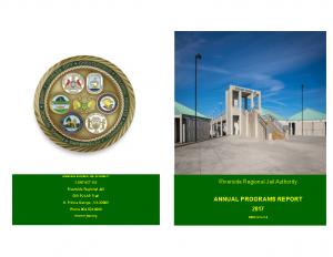 2017 Annual Programs Report