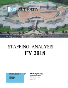 FY 2018 Staffing Analysis