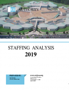 FY 2019 PREA Staffing Analysis