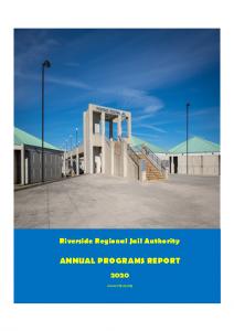 2020 Annual Programs Report