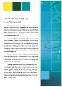 2020 PREA Annual Report