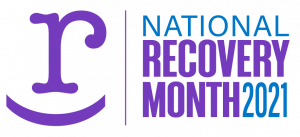 national recovery month 2021 logo